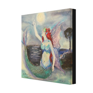 Creature Of The Moon Stretched Canvas Prints