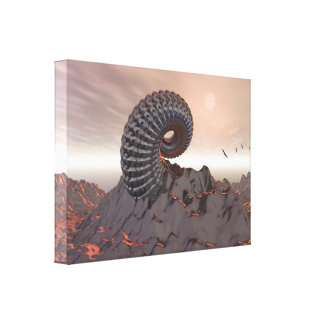 Creature of The Mountain Canvas Prints