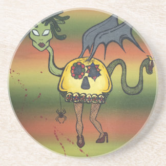 Creature of the Night Beverage Coasters