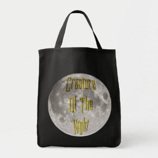 Creature of the Night Grocery Tote Bag