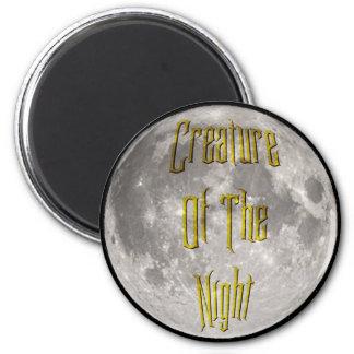 Creature of the Night Fridge Magnet