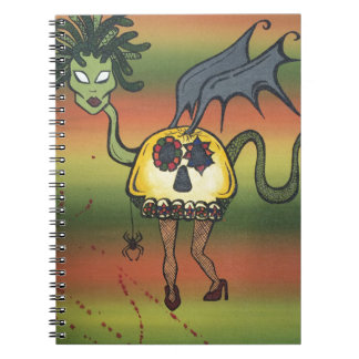 Creature of the Night Note Book