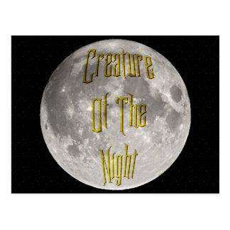 Creature of the Night Postcard