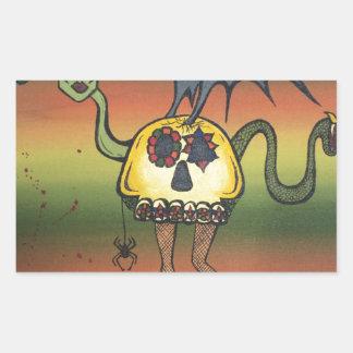 Creature of the Night Rectangular Sticker