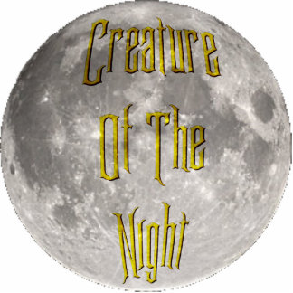 Creature of the Night Standing Photo Sculpture