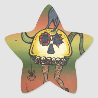 Creature of the Night Star Sticker