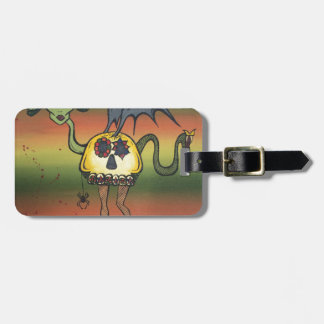 Creature of the Night Travel Bag Tag