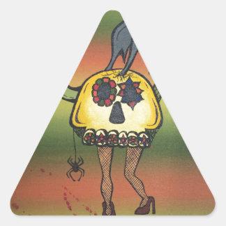 Creature of the Night Triangle Sticker