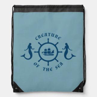 Creature of The Sea Nautic Blazon Backpacks