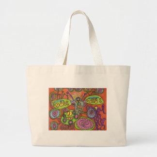 Creatures - Autism Jumbo Tote Bag