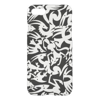 Creatures B&W iPhone 7 Clear Case
