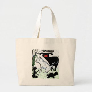 creatures tote bags