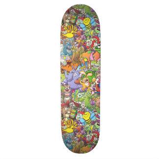 Creatures festival 20.6 cm skateboard deck