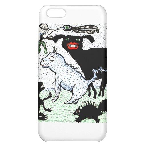 creatures iPhone 5C cover