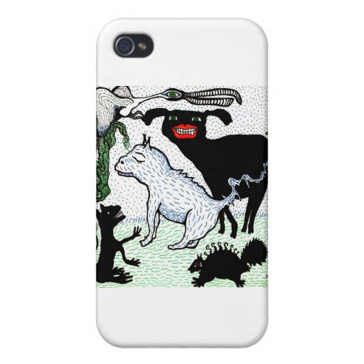 creatures iPhone 4 cover