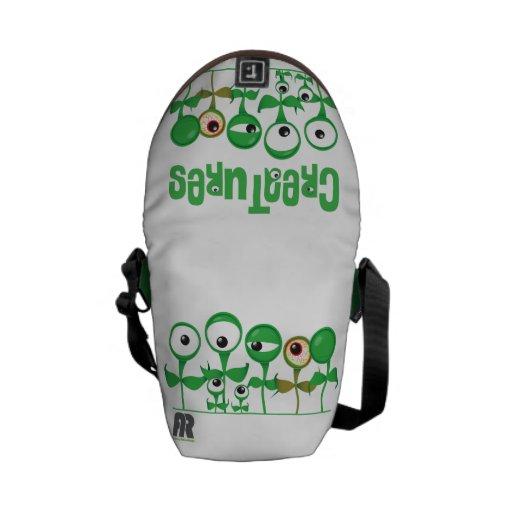 Creatures Messenger Bag