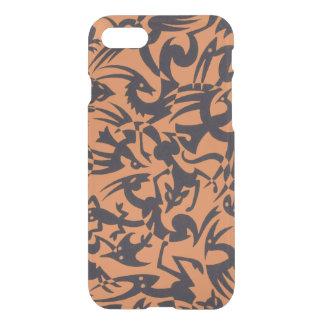 Creatures Orange iPhone 7 Clear Case
