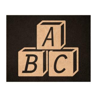 Creche Letters Minimal Queork Photo Print