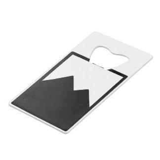 Credit Card Bottle Opener Template