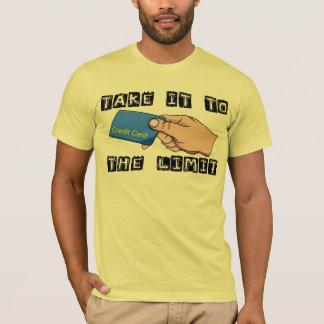 Credit Card Limit Tee Shirt