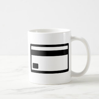 Credit Card Symbol Coffee Mug