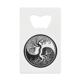 Credit Card Yin Yang Bottle Opener