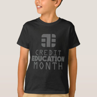 Credit Education Month - March T-Shirt