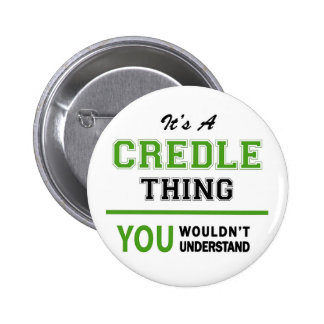 Credle Products 6 Cm Round Badge