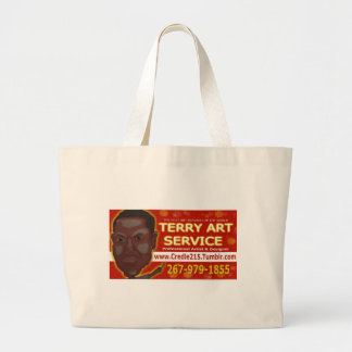Credle Products featuring  Terry Art Service Jumbo Tote Bag