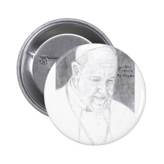 Credle's Pope Francis Products 6 Cm Round Badge