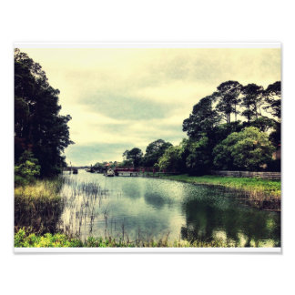 Creek On Tybee Photo Print
