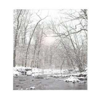 Creek - Winter Notepad