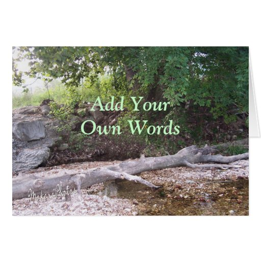 Creekside-any occasion greeting cards