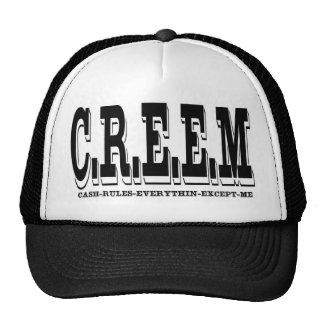 CREEM LOGO- TRUCKER MESH HATS