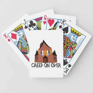 Creep On Over Bicycle Playing Cards