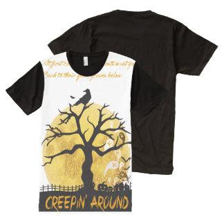 Creepin' Around T-Shirt All-Over Print T-Shirt