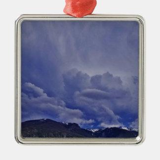 Creeping Clouds 1 Metal Ornament
