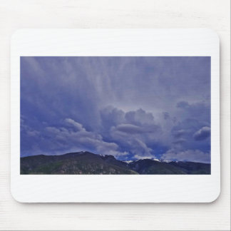 Creeping Clouds 1 Mouse Pad