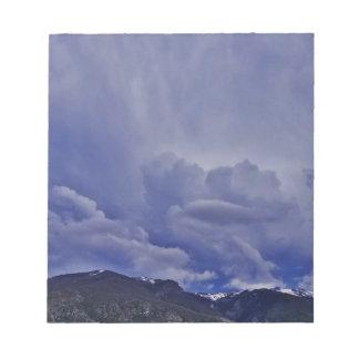 Creeping Clouds 1 Notepad
