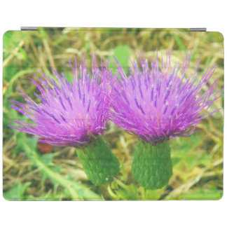 Creeping or Field Thistle iPad Cover