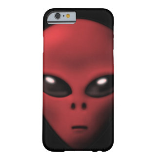 Creepy Alien iPhone 6 case Barely There iPhone 6 Case