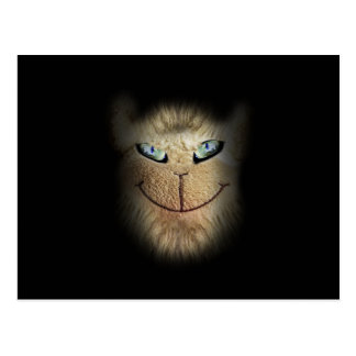 Creepy Animal Face Postcard