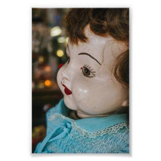 Creepy Antique Doll Photographic Print