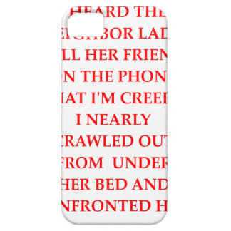 CREEPY BARELY THERE iPhone 5 CASE
