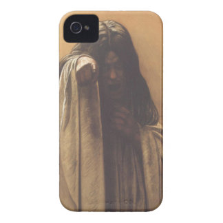 Creepy Blackberry Case With Spooky Girl