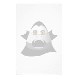 Creepy Candy Corn Dracula Stationery
