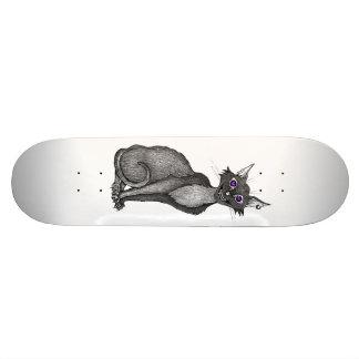Creepy Cat Skateboard Bedruckte Skateboarddecks