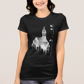 Creepy Church T-Shirt in Black