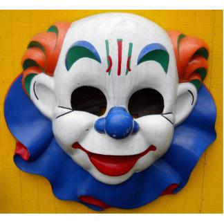 Creepy Circus Clown Cut Out