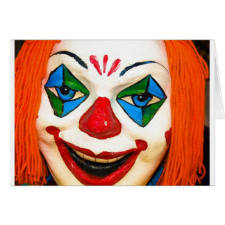 Creepy Clown Cards